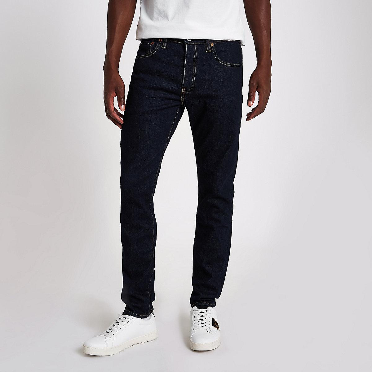 Levi's blue denim 512 slim taper fit jeans