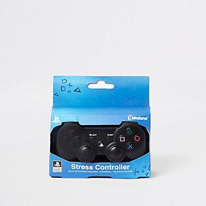 Black PlayStation stress controller