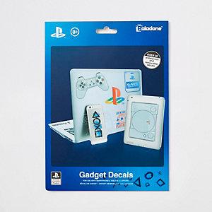 Autocollants gadgets PlayStation bleus