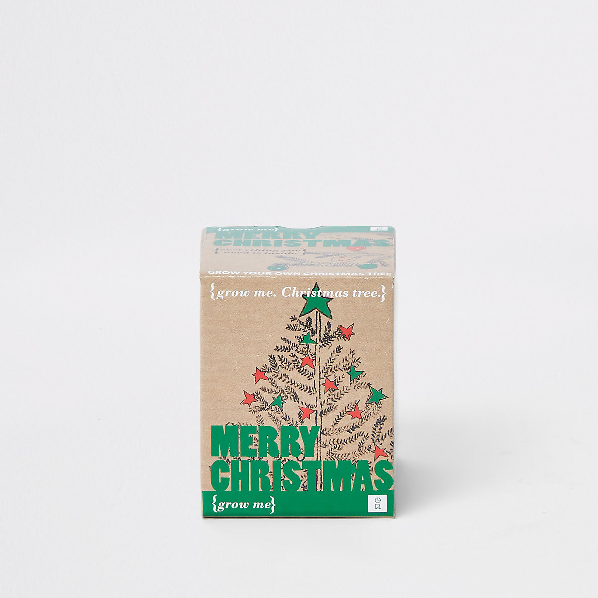 Ecru grow your own Christmas tree set