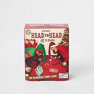 Rotes Spiel Head to Head Elf Vs Santa