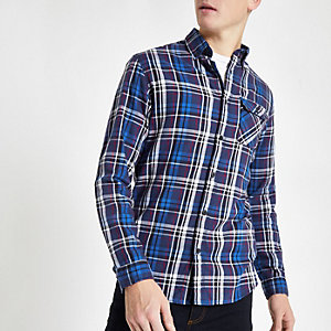 Jack & Jones red check shirt