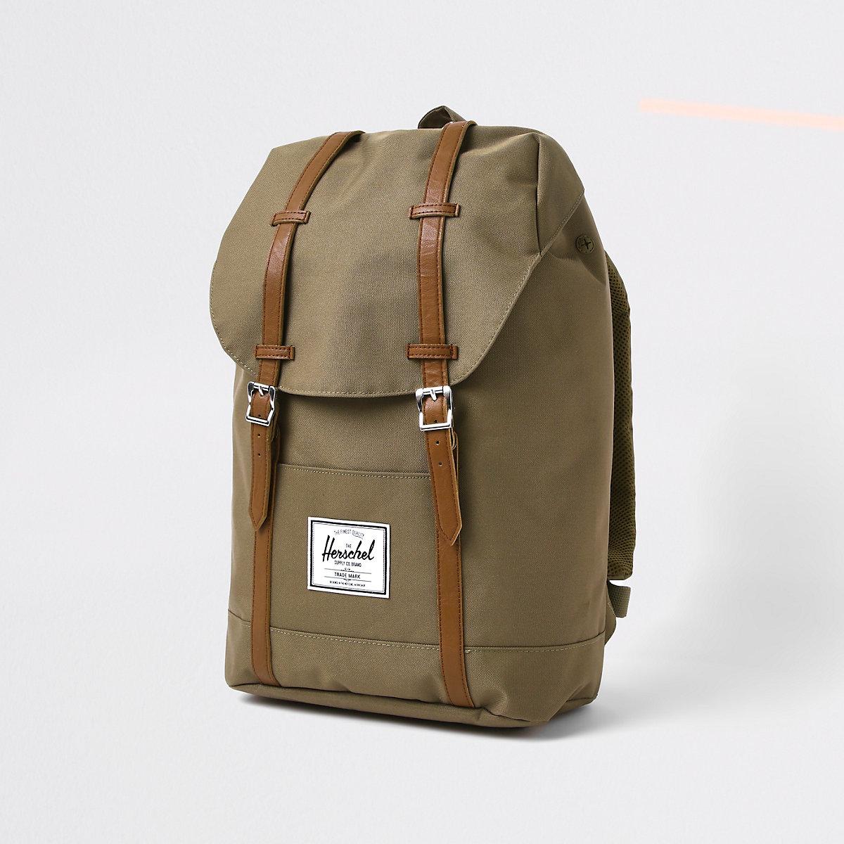 7c080543a6b6 Herschel stone Retreat stone backpack - Backpacks   Rucksacks - Bags ...