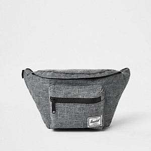 Herschel grey Seventeen crosshatch hip pack