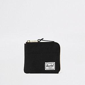 Herschel - Johnny - Zwarte portemonnee met rits