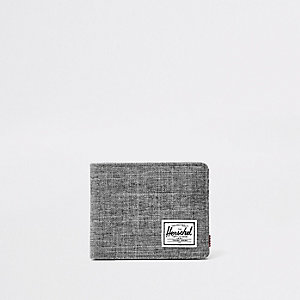 Herschel grey Roy crosshatch wallet