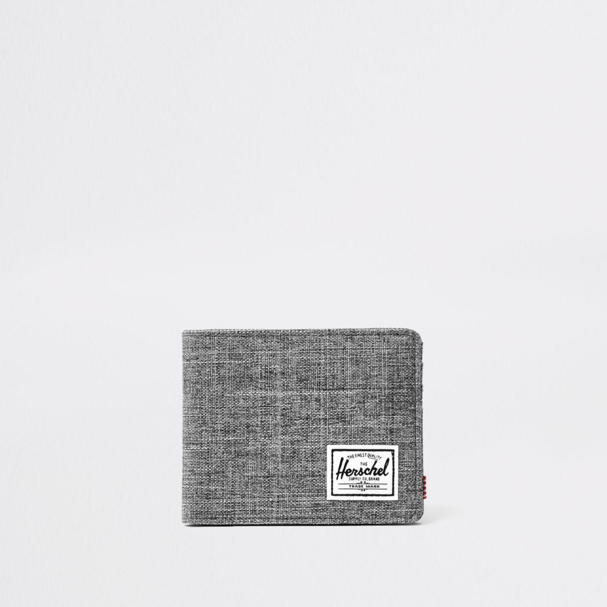 Herschel grey Roy crosshatch wallet