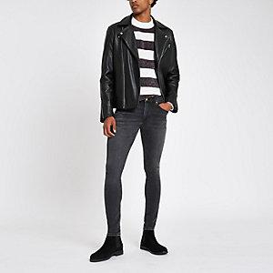Ollie – Jean skinny noir effet seconde peau
