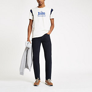 Lee – T-shirt blanc à logo