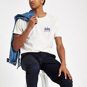 Lee stone logo print T-shirt