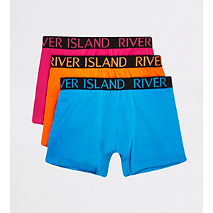 Lot de 3 boxers RI rose
