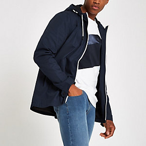 Only & Sons navy lightweight Asbjorn jacket