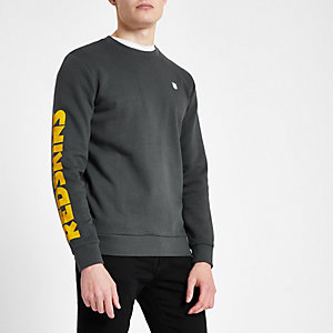 Only & Sons – Sweat NFL 'Redskins' gris