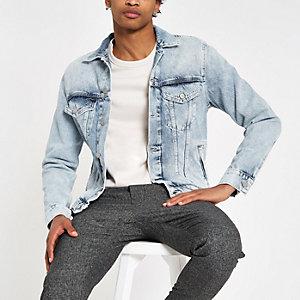 Pepe Jeans – Hellblaue Jeansjacke