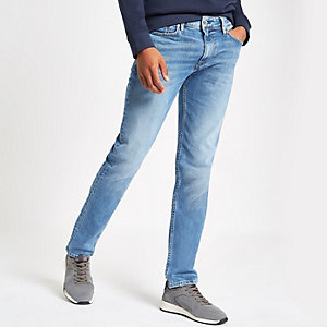 Pepe Jeans blue Luke slim fit tapered jeans
