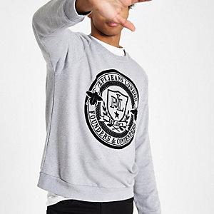 Pepe Jeans - Grijs sweatshirt met logoprint