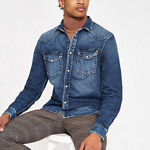 Pepe Jeans – Blauer Jeansrock