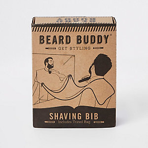Grooming beard buddy shaving bib