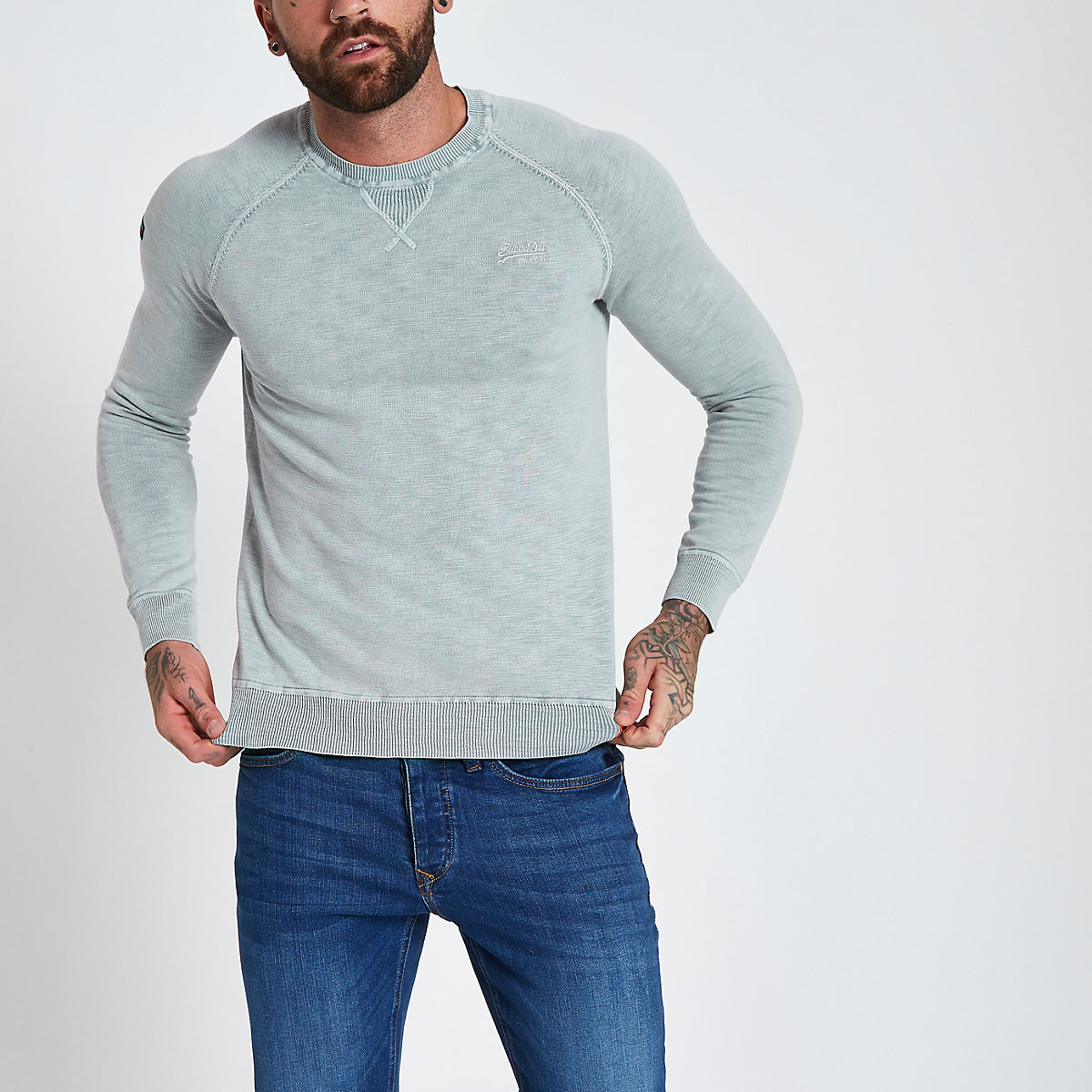 Superdry grey sweater
