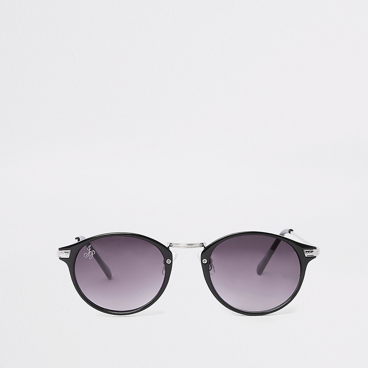 Jeepers Peepers black round sunglasses