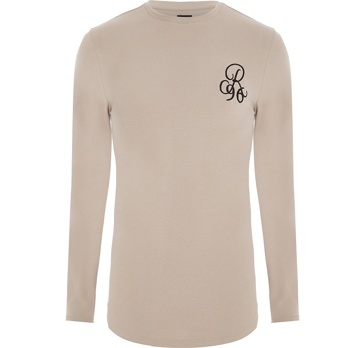 Stone muscle fit R96 long sleeve T-shirt