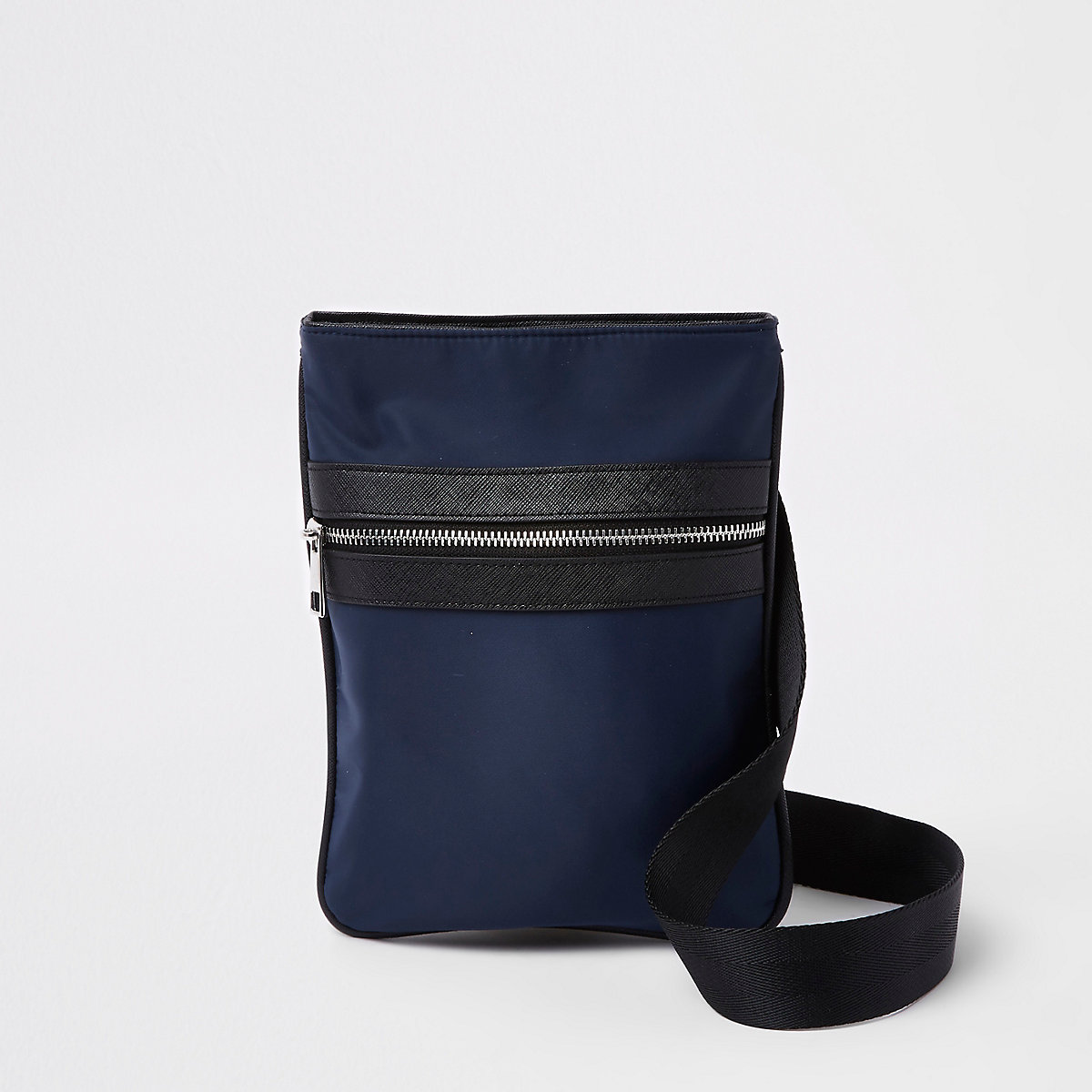 Navy nylon flight bag