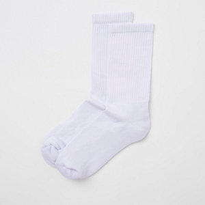White tube socks