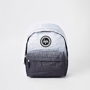Hype speckled black speckled backpack