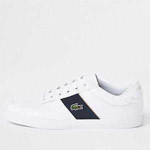 Lacoste Courtmaster sneakers van wit leer