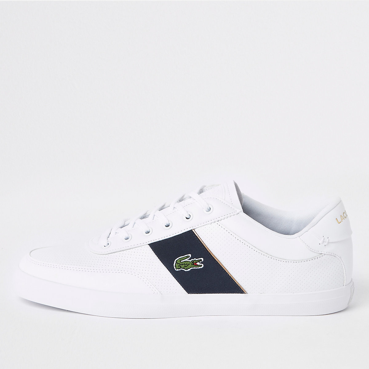Lacoste white leather Courtmaster sneakers