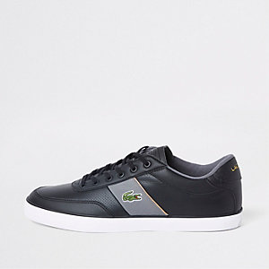 Lacoste leather Courtmaster lace-up trainers