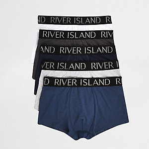 Blue RI waistband trunk 5 pack