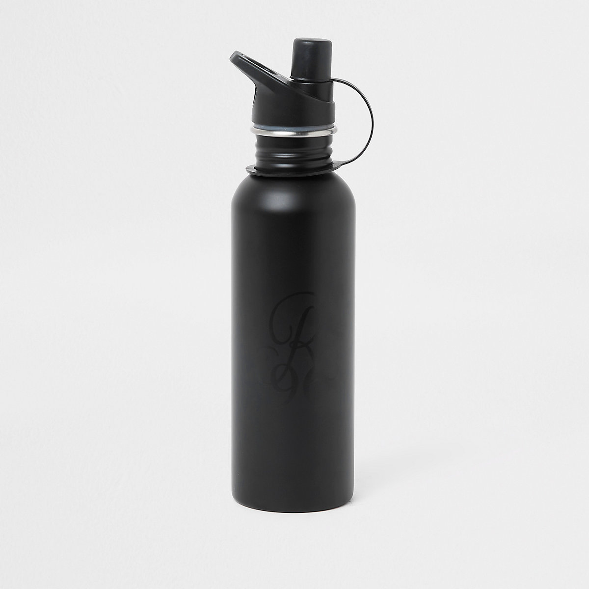 Black 'R96' water bottle