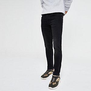Black Dylan washed slim fit jeans