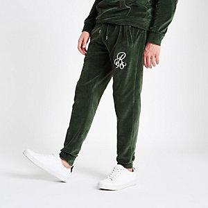 "Grüne Slim Fit Jogginghose ""R96"""