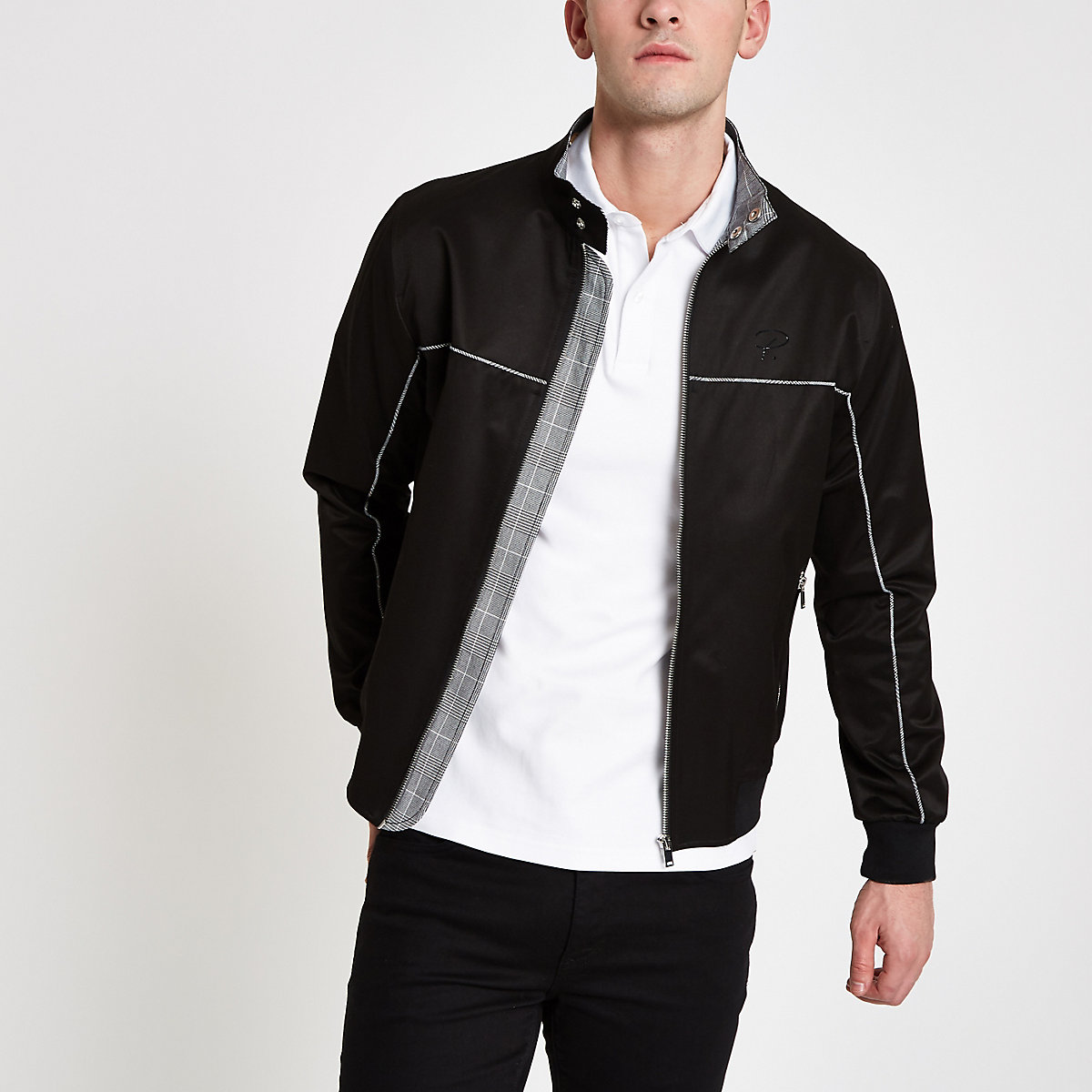 Black 'Prolific' Harrington jacket