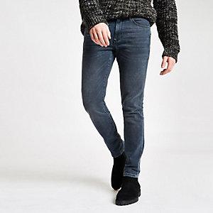 Sid – Dunkelblaue Skinny Stretch Jeans