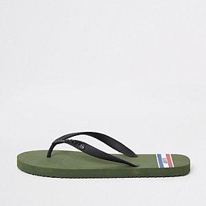Levi's – Flip-Flops in Khaki