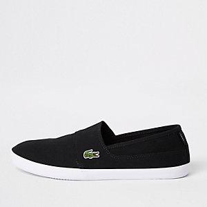 Lacoste instapsneakers in zwart