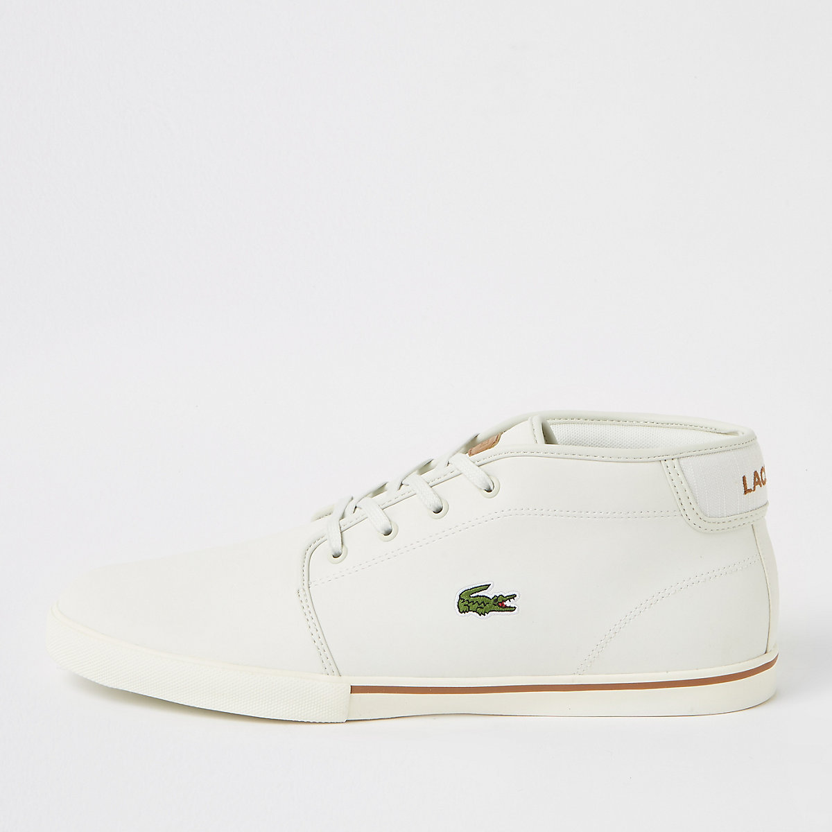 Lacoste white leather sneakers