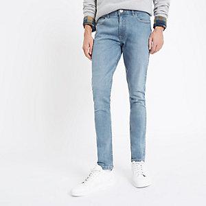 Sid - Middenblauwe skinny jeans