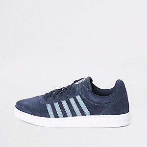 K-Swiss – Court Cheswick – Blaue Sneaker