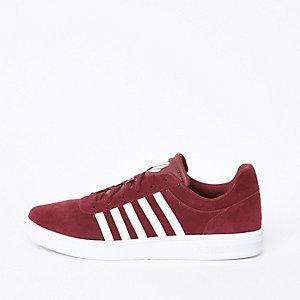 K-Swiss – Court Cheswick – Rote Sneaker