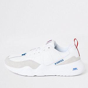 K-Swiss – CR 329 – Klobige weiße Sneaker