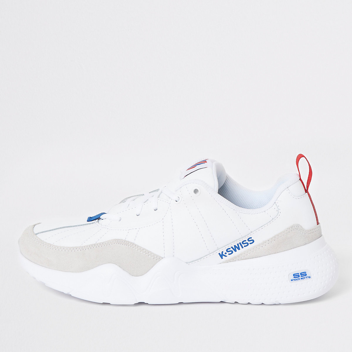 K-Swiss white CR 329 chunky sneakers