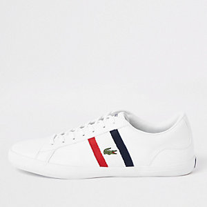Lacoste Lerond white leather trainers
