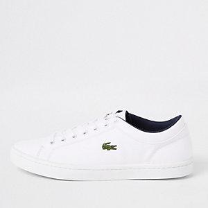 Lacoste – Straightset – Weiße Sneaker