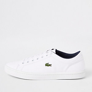 Lacoste Straightset - Witte sneakers