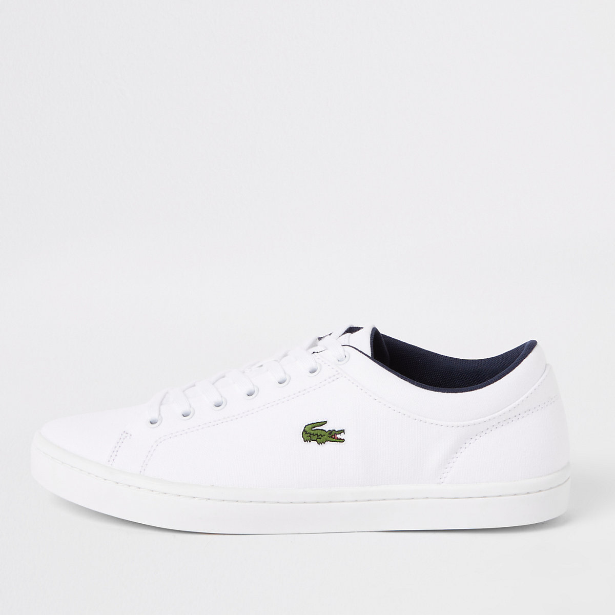 e24750731f0238 Lacoste Straightset white trainers - Trainers - Shoes   Boots - men