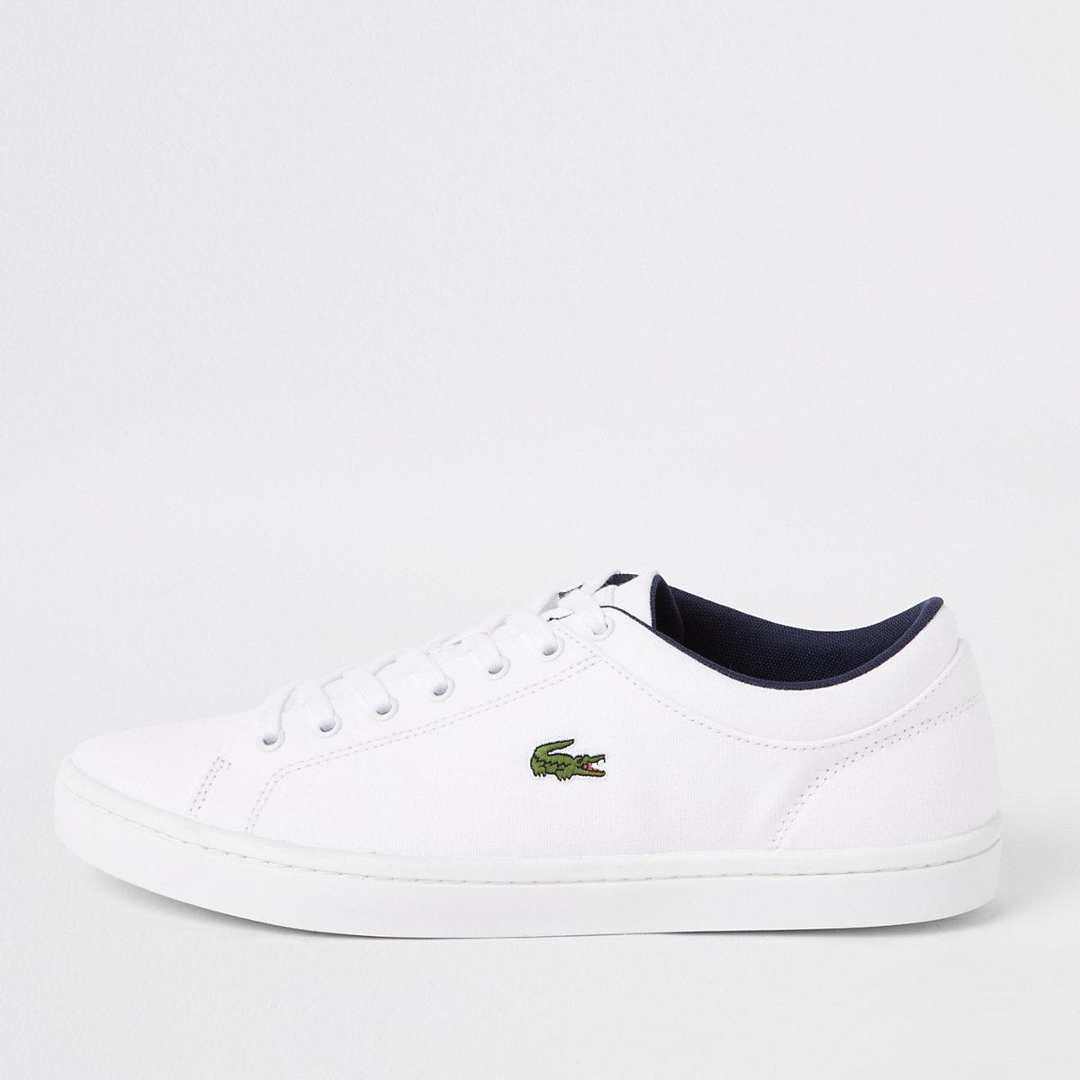 Laarzen amp; Sneakers Straightset Schoenen Lacoste Witte wxSqvwX1